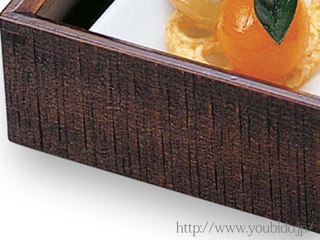 東濃檜はつり料理箱(D)陶器付