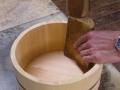 桶製造 底板入れ